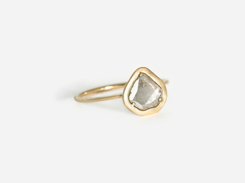 Shaesby Diamond Slice Ring