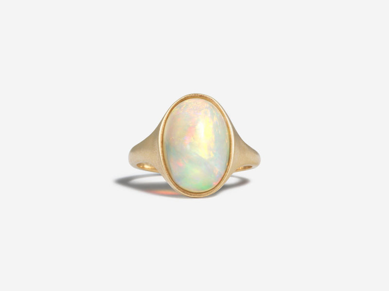 Shaesby 14k Gold Opal Ring