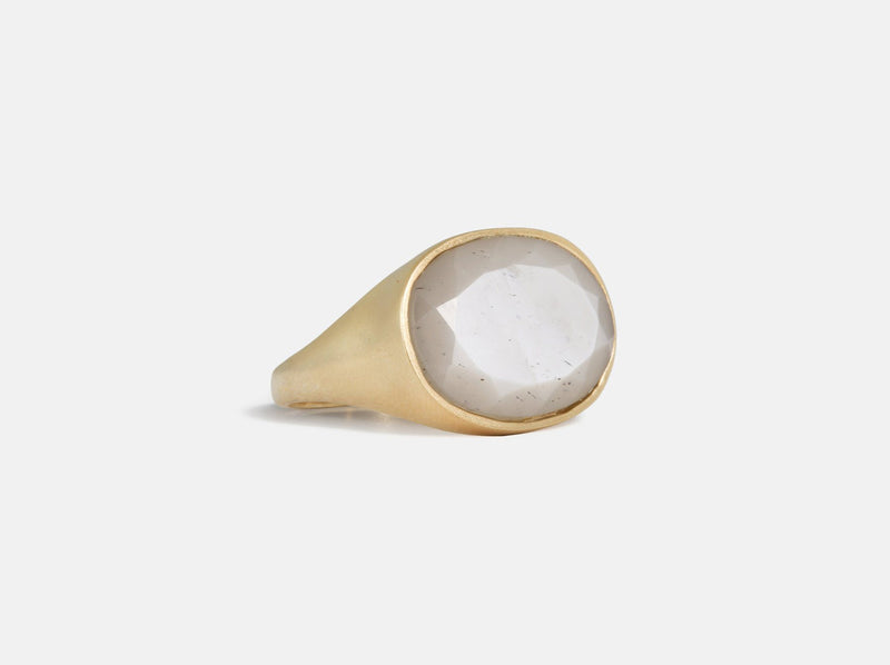 Shaesby Grey Moonstone Ring