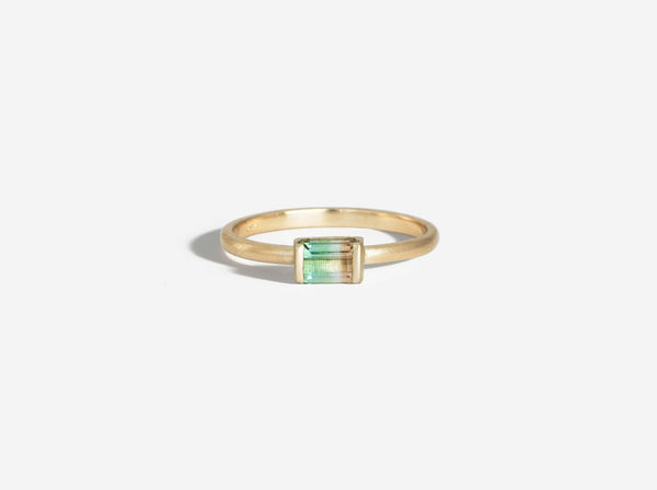 Shaesby Watermelon Tourmaline Ring