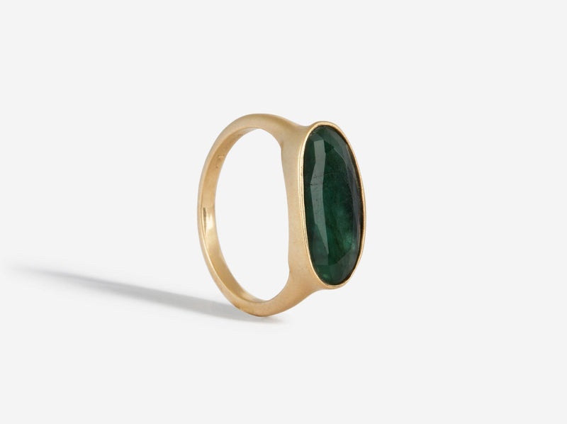 Shaesby 14k Gold Emerald Ring