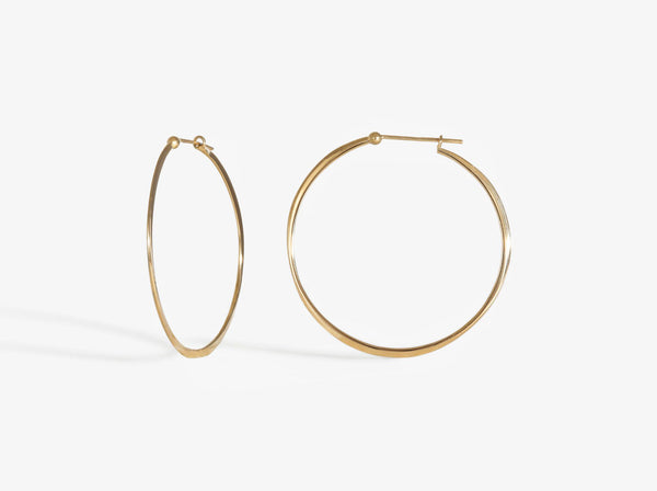 Shaesby Classic Wave Hoops
