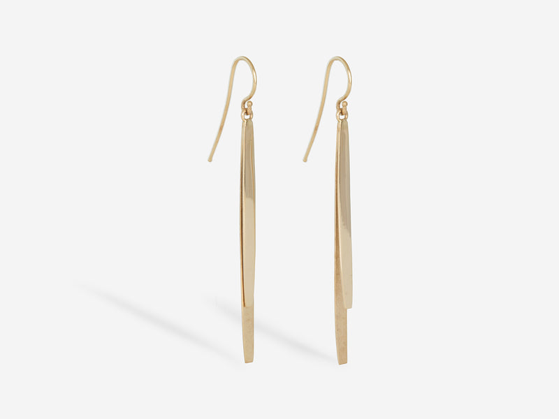 Cypress Textured Spike Earring