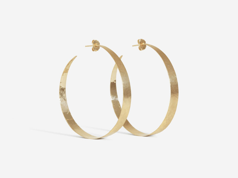 Shaesby Medium Open Forged Hoops
