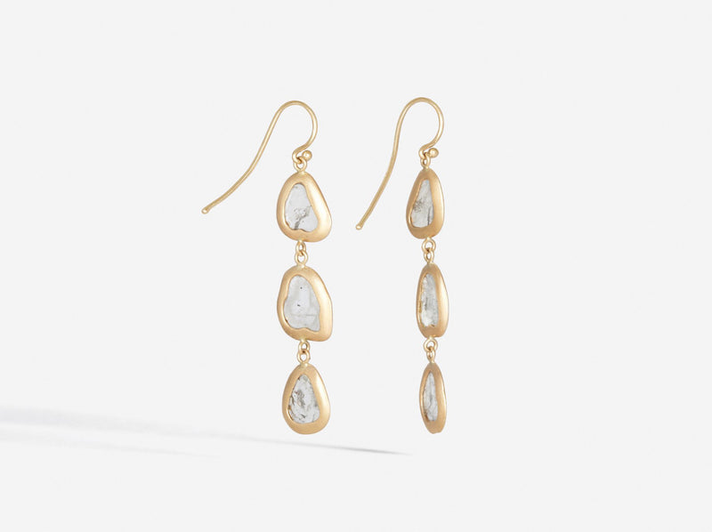Shaesby Triple Slice Earrings