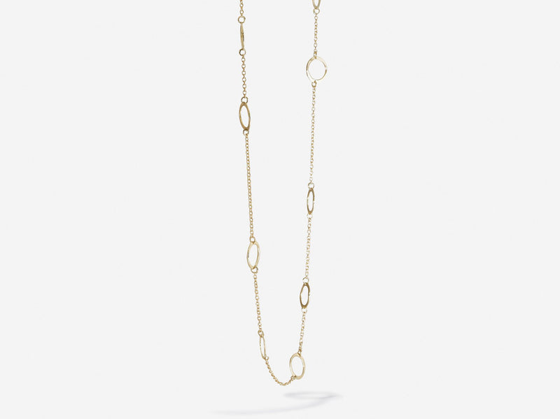 Shaesby Eleven Circle Necklace