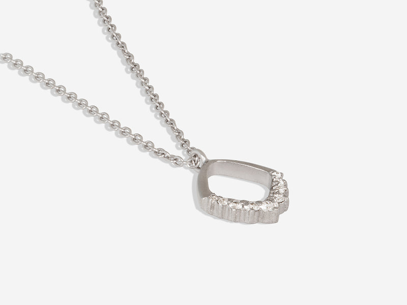 Pavé Diamond Necklace