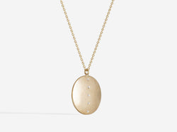 Shaesby Large Coin Necklace