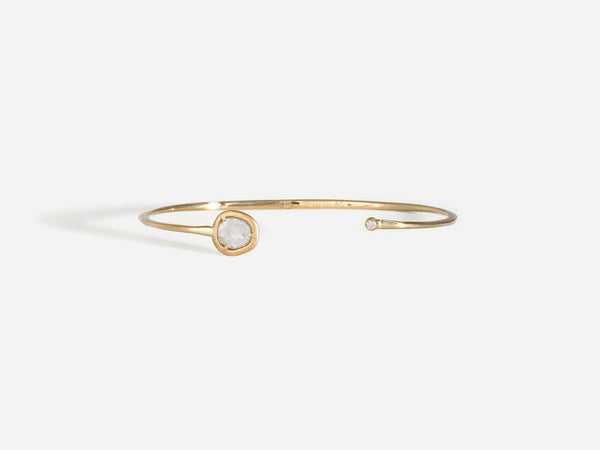 Shaesby Diamond Slice Cuff
