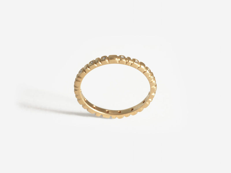 Shaesby Soleil Stack Ring with Stones