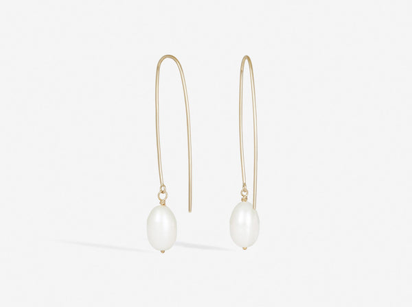Shaesby Pearl Drop Earring