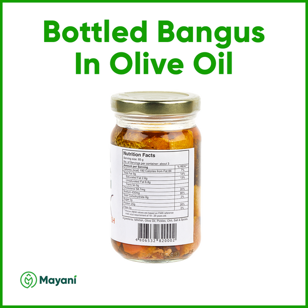 Pangasinan Bottled Bangus: Milkfish in Olive Oil - Mayani Farm