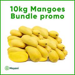 Fresh Mango 10kg Limited Offer (plus free 1kg Sweet Potato)
