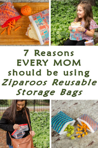 Seven Reasons Moms Should Use Ziparoos Reusable Storage Bags