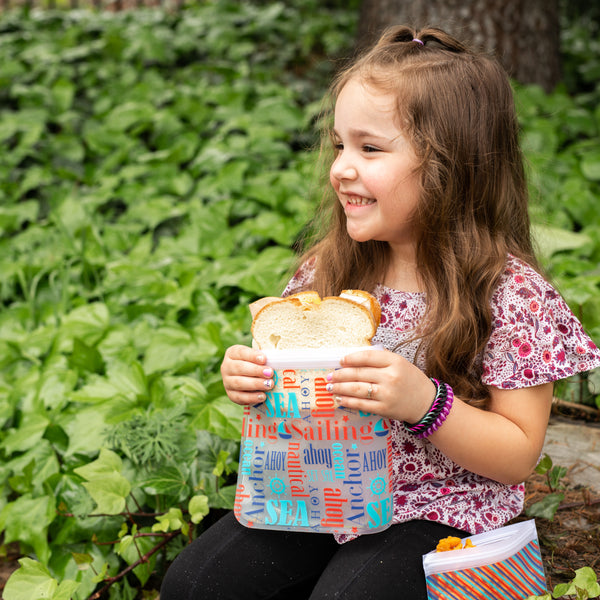 Ziparoos Extra Large Sandwich Bags are Kid Friendly
