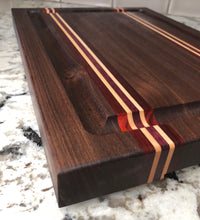 Load image into Gallery viewer, Striped Cutting Board - Subvet Customs