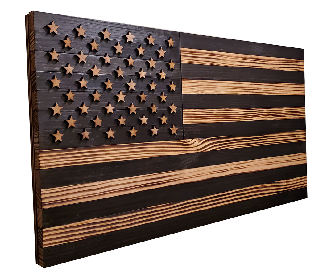 Extra Large (XL) - Subdued American Flag 4ft - 48