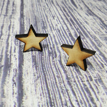 "Load image into Gallery viewer, 1"" Wood Stars (500 count) - Subvet Customs"