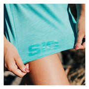 Logo detail of SiQ Mountain Industries Tahiti Tank