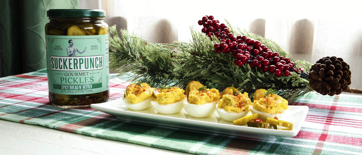 SuckerPunch Deviled Eggs