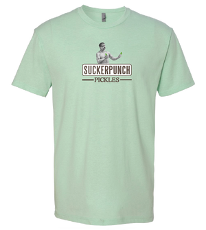 SuckerPunch Unisex Green Logo T-shirt