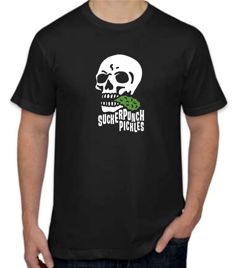 SuckerPunch Skull Unisex Short Sleeve T-Shirt