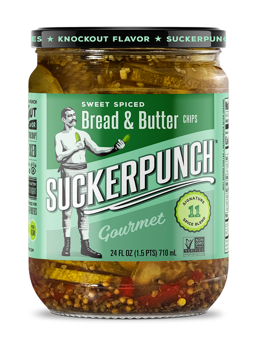 Spicy Bread & Butter Pickles