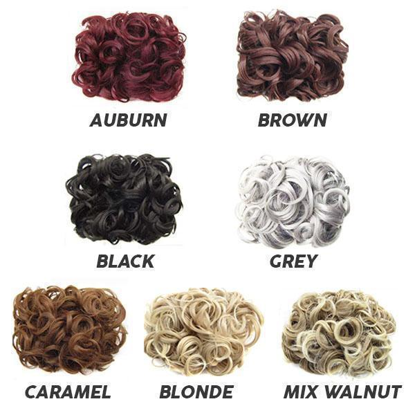 Buy 3 Free Shipping - Curly Bun Comb Clip