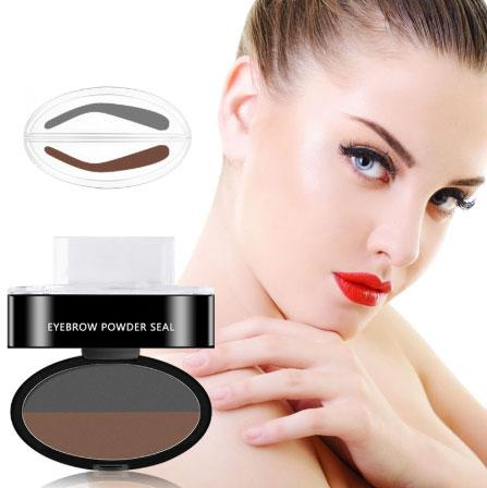 4 Pcs WorldWide FREE SHIPPING,Magical Waterproof Eyebrow Stamp (3 brow shapes included)