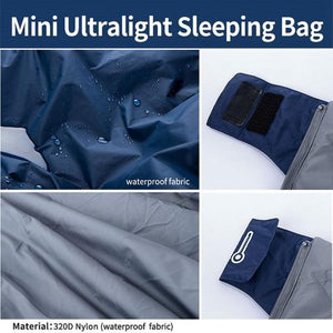 ULTRA LIGHTWEIGHT & PORTABLE SLEEPING BAG(Free shipping)