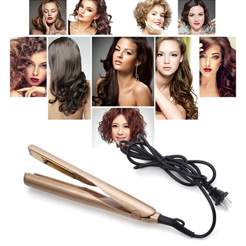 🔥HOT SALE🔥2- in-1 Hair Curler and Straightener