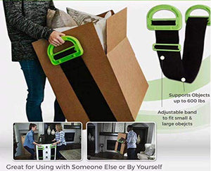 The Landle Adjustable Moving and Lifting Straps for Furniture, Boxes, Mattress+Buy 2 Free Shipping