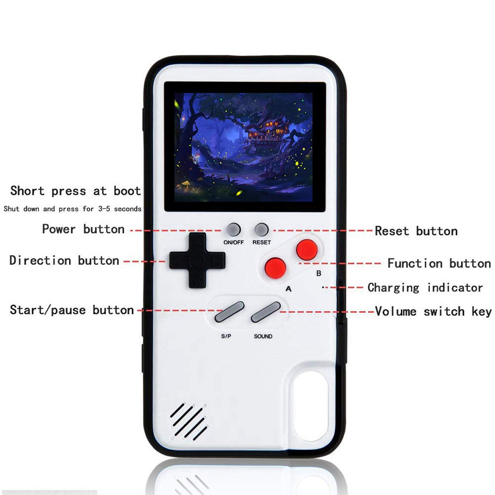 Color Screen Gameboy iPhone Case