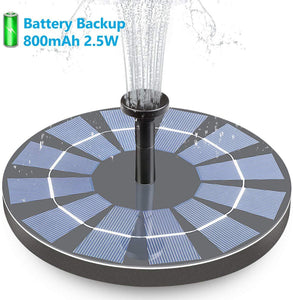 Solar Bird Bath Fountain & Free Shipping