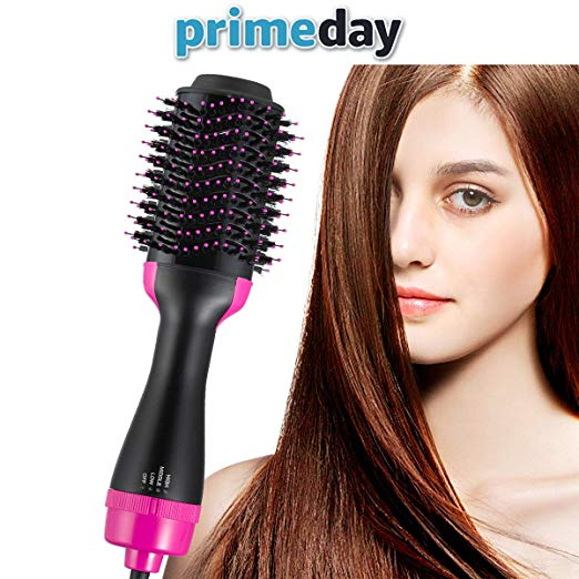 Get 2 in 1 Multifunctional Hair Dryer & Volumizer Hair Brush Roller(Buy 2 Free Shipping)
