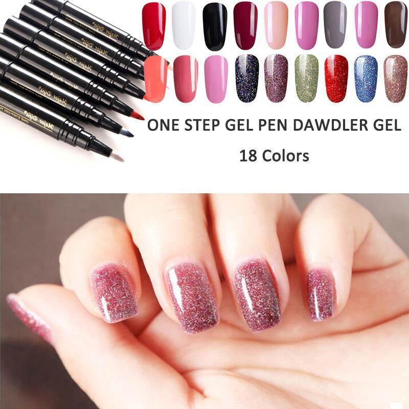 Nail art pen - ONE STEP GEL PEN