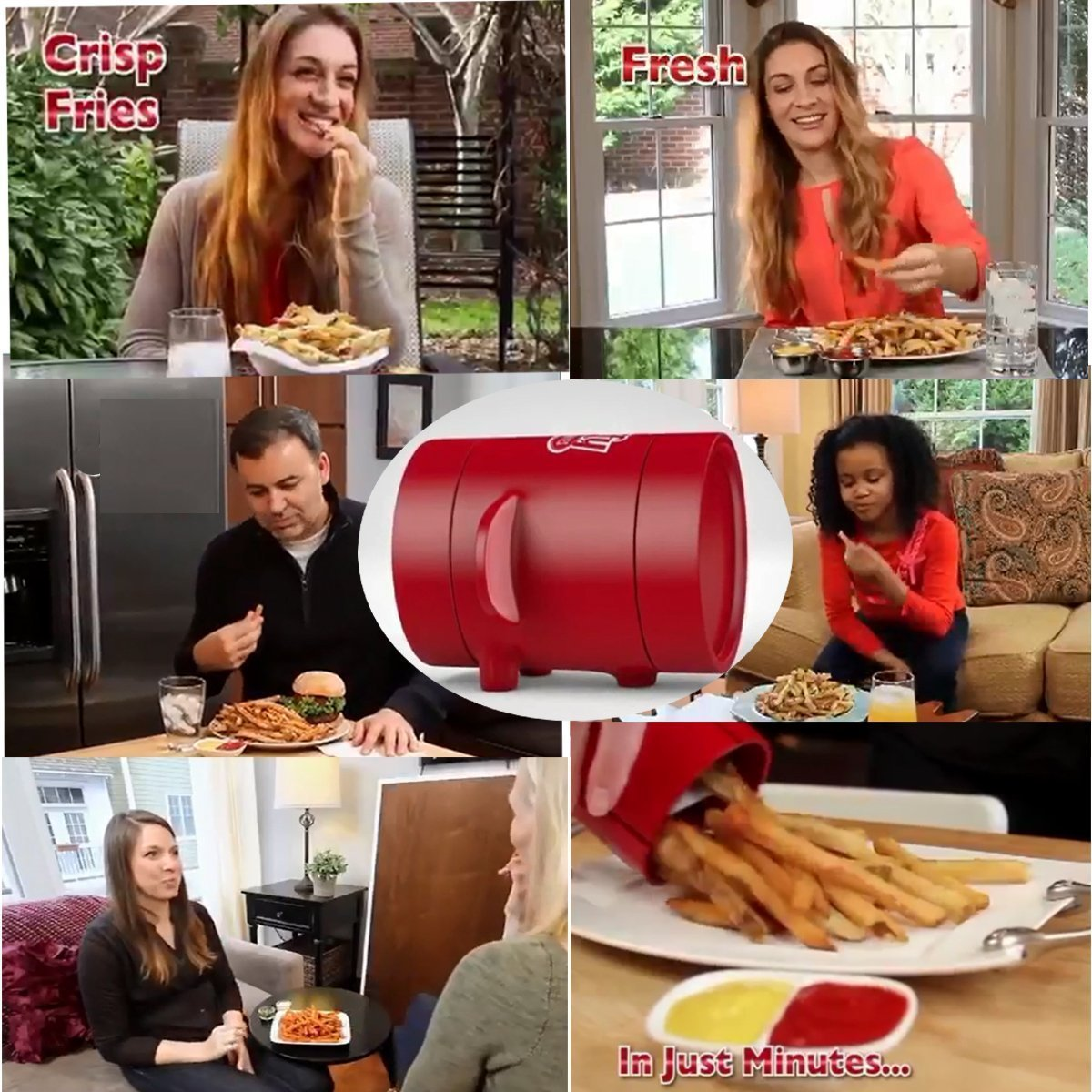 Instant Perfect Fries Maker+Buy 2 Free Shipping!!!