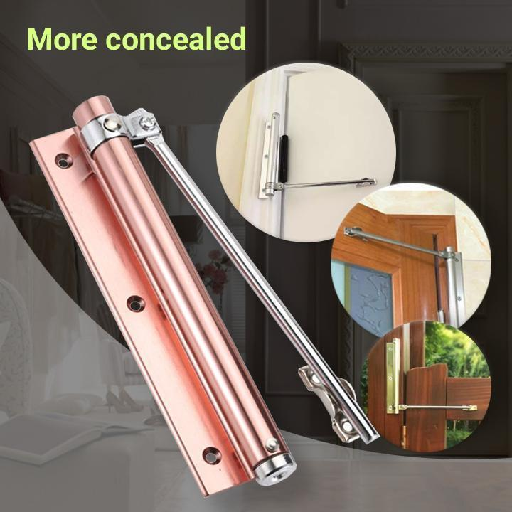 Automatic Door Self-Closing Hinge