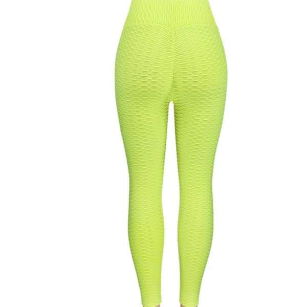 Booty Lifting x Anti-Cellulite Leggings - Lime / S