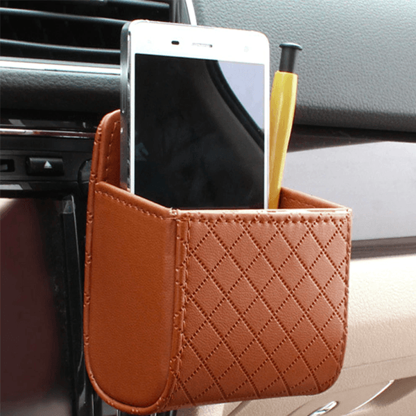Car Mobile Phone Holder Storage Bag+Buy 2 Free Shipping
