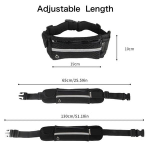 WATERPROOF RUNNING WAIST BELT BAG(Free shipping)