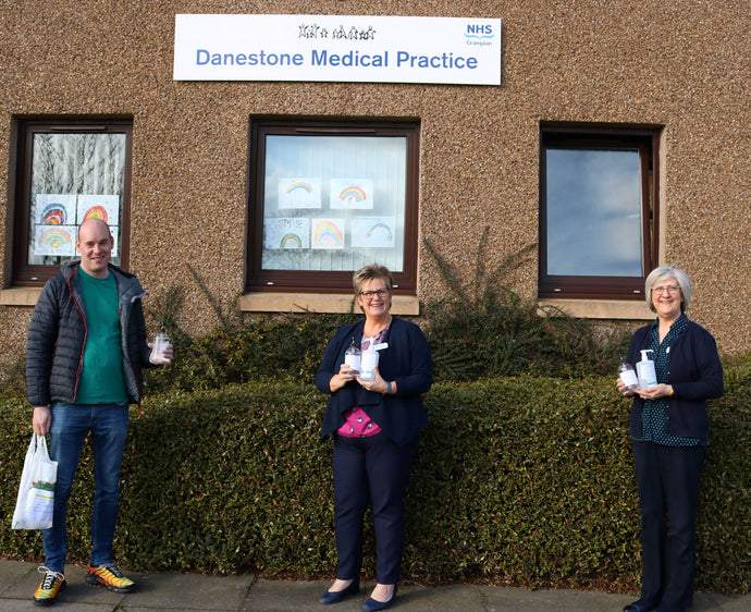 Delivery for...Danestone Medical Practice