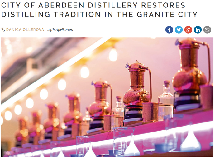 City of Aberdeen Distillery restores distilling tradition in the granite city