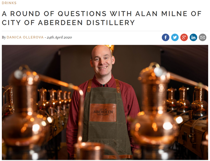 A round of questions with the Head Distiller