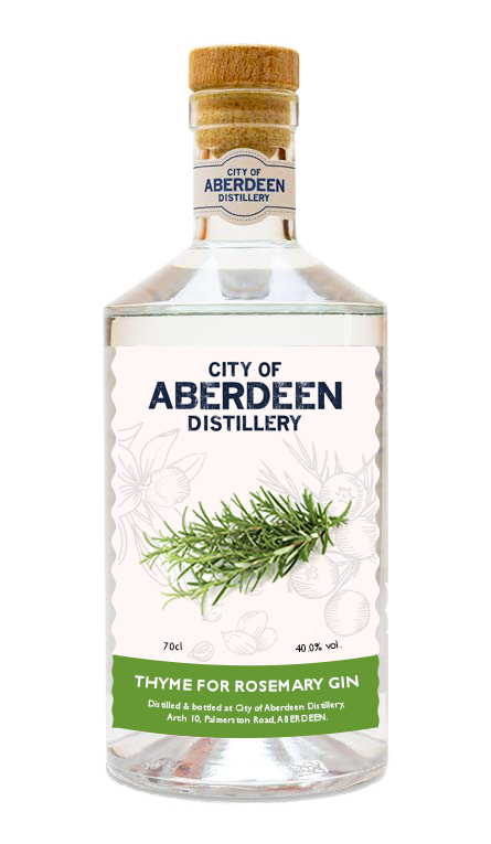 Aberdeen Gin - Thyme for Rosemary Gin