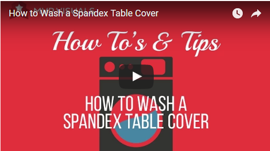 168 & How to Wash a Spandex Table Cover   MVP Visuals