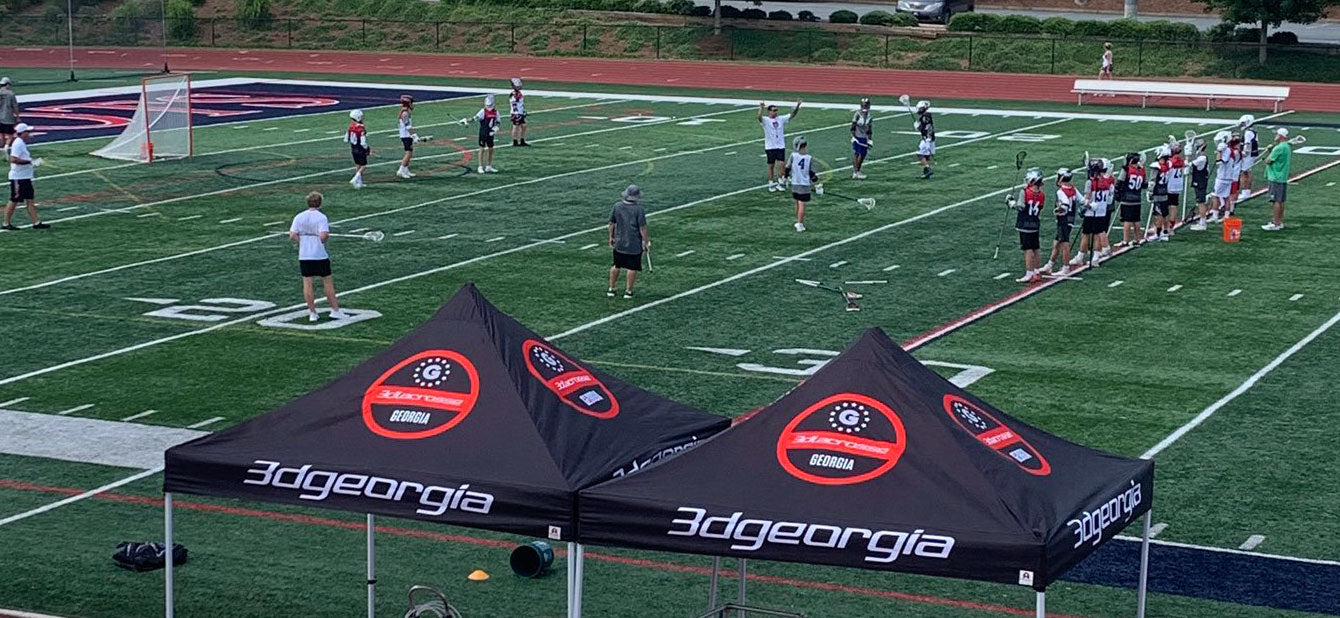 Top Custom Tents for Lacrosse Teams