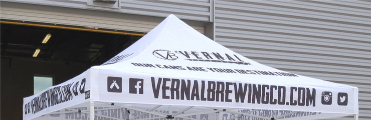Top Custom Printed Tents for Breweries