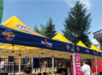 Six Flags Food & Brew Festival | MVP Visuals Client Success Story