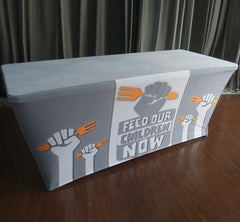 Table cover logo